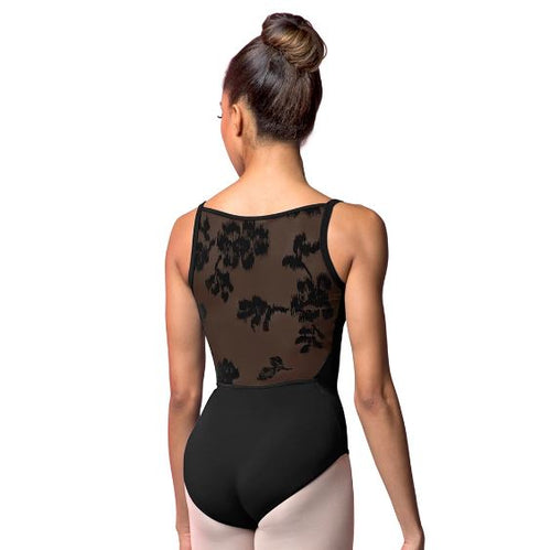Bloch Rose Mesh Back Leotard