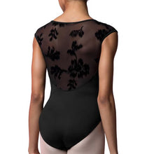 Load image into Gallery viewer, Bloch Rose Mesh Cap Sleeve Leotard