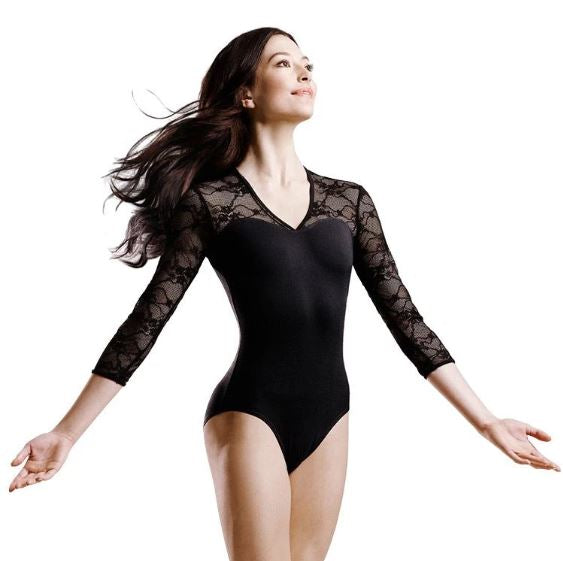 Bloch Kate 3/4 Sleeve Lace Leotard