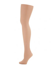 Load image into Gallery viewer, Capezio Ultra Shimmery Footed Tights (Child)