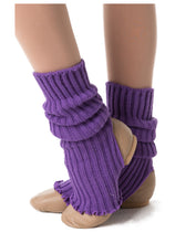 Load image into Gallery viewer, Studio 7 40cm Legwarmers Purple