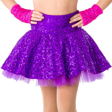 Load image into Gallery viewer, Studio 7 Sequin Skater Skirt