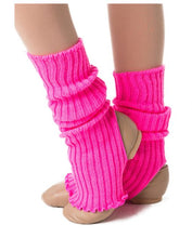 Load image into Gallery viewer, Studio 7 40cm Legwarmers Pink