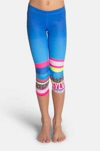 Sylvia P Mix Tape Leggings