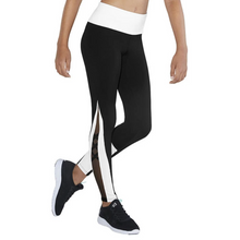 Load image into Gallery viewer, Bloch Contrast X Mesh Panel Girls Full Length Legging