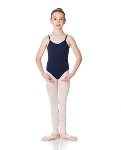 Studio 7 Camisole Strap Leotard Black