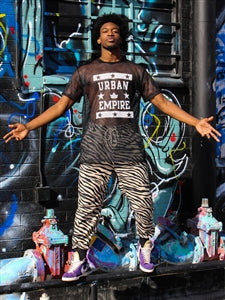 Urban Empire Mesh Football Jersey