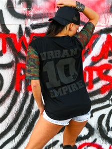 Urban Empire Button Up Baseball Jersey