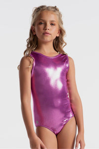 Sylvia P Boysenberry Mystique Leotard