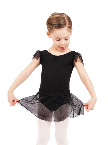 Capezio Shooting Star Flutter Sleeve Dress