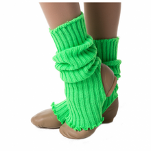 Load image into Gallery viewer, Studio 7 40cm Legwarmers Green
