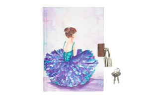 Dream Duffel Ballerina Lockable Diary