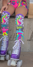 Load image into Gallery viewer, MadMia 'UNICORN MAGIC' Socks