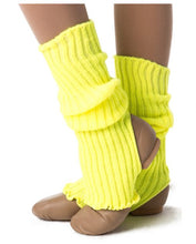 Load image into Gallery viewer, Studio 7 40cm Legwarmers Yellow