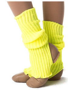 Studio 7 40cm Legwarmers Yellow