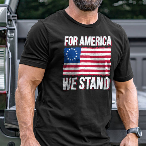 For America We Stand T-Shirt VIP