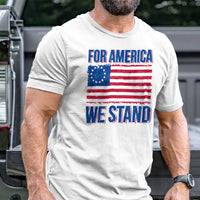 Load image into Gallery viewer, For America We Stand T-Shirt VIP