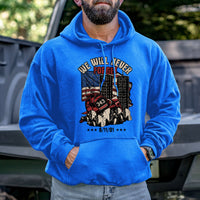 Load image into Gallery viewer, Never Forget 9/11 Hoodie VIP
