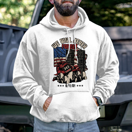 Load image into Gallery viewer, Never Forget 9/11 Hoodie