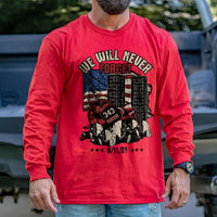 Load image into Gallery viewer, Never Forget 9/11 Long Sleeve