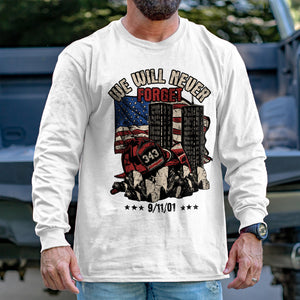 Never Forget 9/11 Long Sleeve VIP