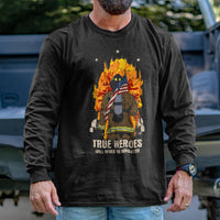 Load image into Gallery viewer, Firefighter Hero Long Sleeve
