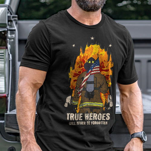 Firefighter Hero T-Shirt VIP