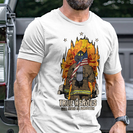 Load image into Gallery viewer, Firefighter Hero T-Shirt