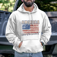 Load image into Gallery viewer, America Love It or Leave Hoodie