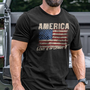 America Love It or Leave T-Shirt VIP