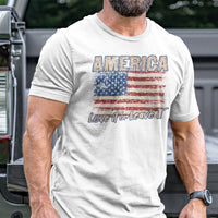 Load image into Gallery viewer, America Love It or Leave T-Shirt VIP