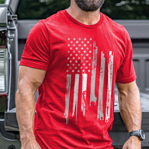 Statue of Liberty Flag T-Shirt