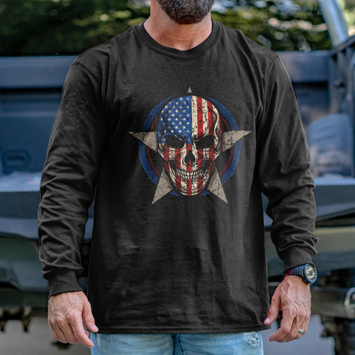 Skull Star Long Sleeve