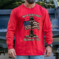Load image into Gallery viewer, May We Never Forget Long Sleeve