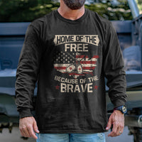 Load image into Gallery viewer, Home of the Free Long Sleeve VIP