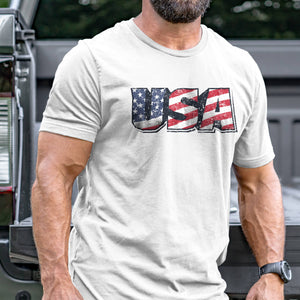 Vintage USA Flag T-Shirt VIP