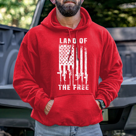 Load image into Gallery viewer, Land of the Free Hoodie