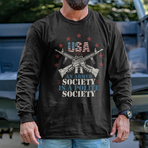 Armed Society Long Sleeve