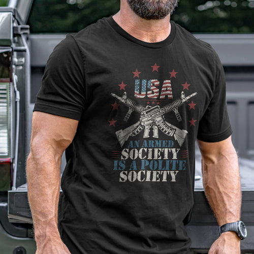 Armed Society T-Shirt