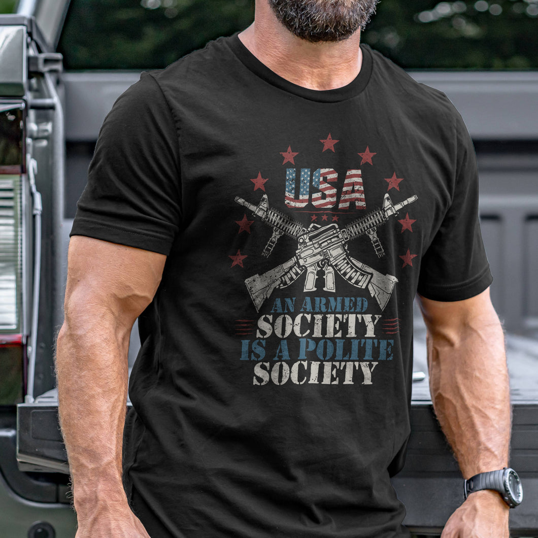 Armed Society T-Shirt VIP