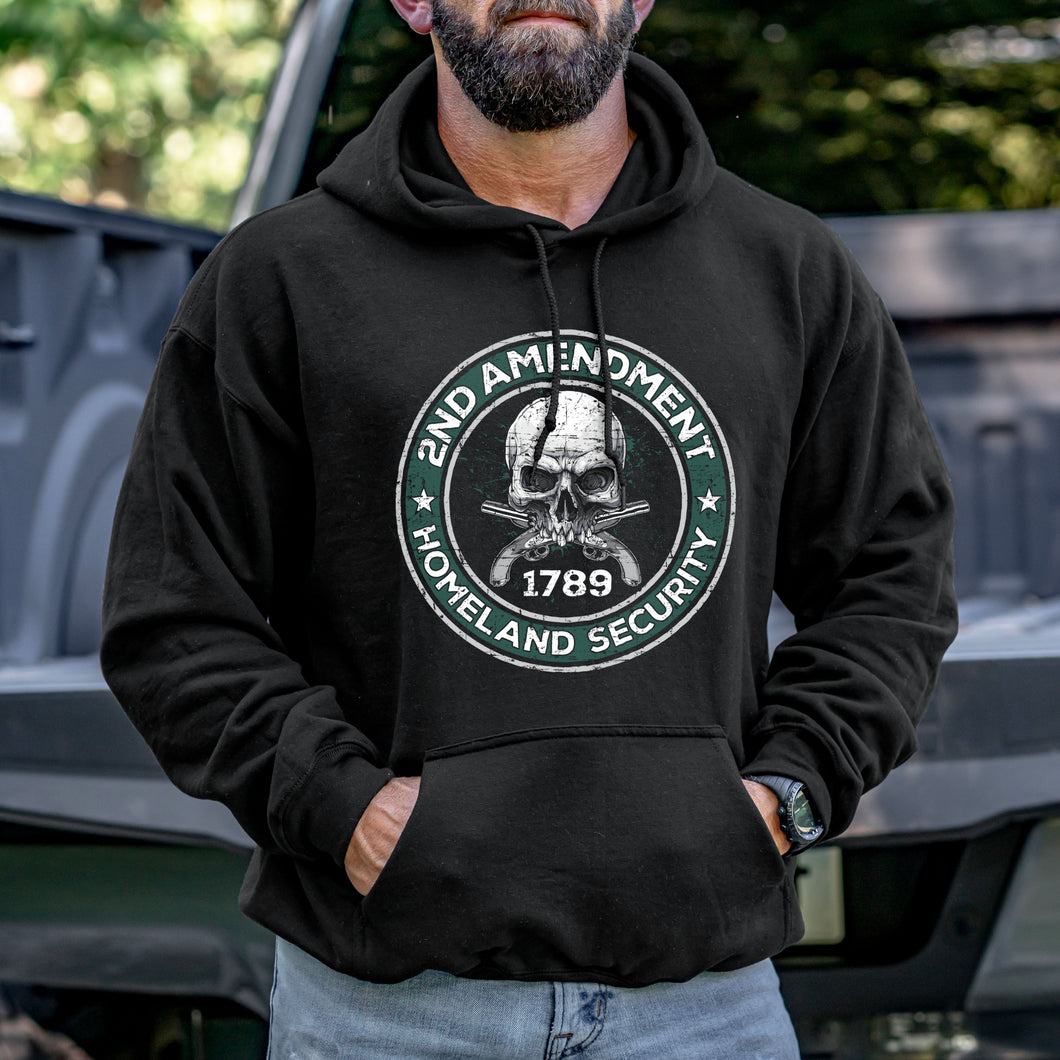 2nd Amendment is Homeland Security Hoodie