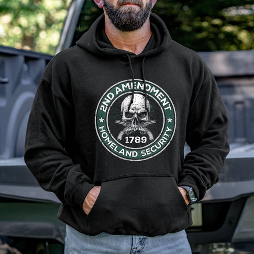 2nd Amendment is Homeland Security Hoodie VIP