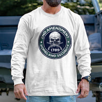 Load image into Gallery viewer, 2nd Amendment is Homeland Security Long Sleeve