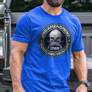 2nd Amendment is Homeland Security T-Shirt VIP