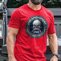 Load image into Gallery viewer, 2nd Amendment is Homeland Security T-Shirt VIP