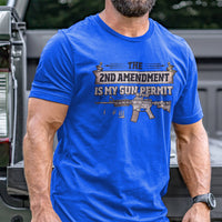 Load image into Gallery viewer, 2nd Amendment is my Permit T-Shirt