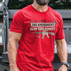 2nd Amendment is my Permit T-Shirt