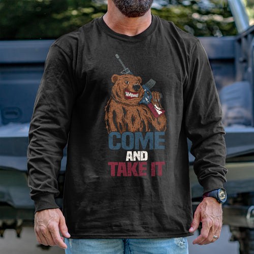 Come and Take It Bear Long Sleeve