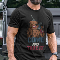 Load image into Gallery viewer, Come and Take It Bear T-Shirt