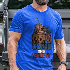 Come and Take It Bear T-Shirt VIP